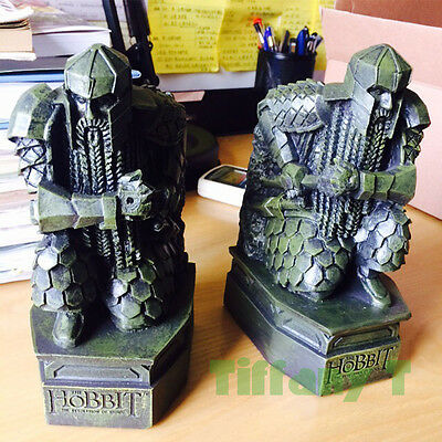 Lord of The Rings The Hobbit Desolation of Smaug Resin Bookends Statue Figure