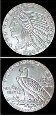 1oz 1929 Indian-Eagle Silver Bullion Coin 99.99%  Brilliant Uncirculated