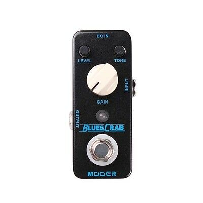 Pedale chitarra Mooer Blues Crab Overdrive nuovo!!!