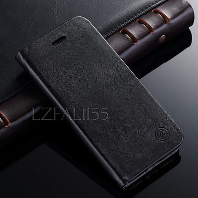 Luxury Flip Stand Leather Case Card Wallet Cover for Apple iPhone 7 6s Plus 5 5s