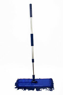 HomeValet Professional Waxed Floor Duster,Extendable handle, Allergy Friendly