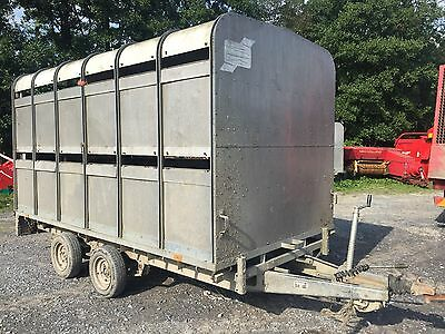 Ifor Williams DP120 Cattle Trailer