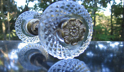 Exquisite Cut Glass Door Knob Made In France