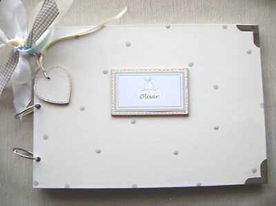 A4 Size. Personalised New Baby/Birth  .Size. Photo Album/Scrapbook/Memory Book