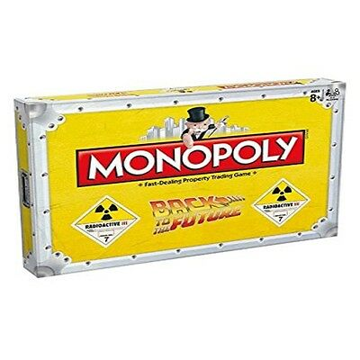 Monopoly Back to the Future Board Game - Strategy Board Game - Best Xmas Gift
