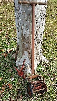 Antique SEARS CRAFTSMAN PUSH MOWER TRIMMER Vintage GRASS CUTTER w Ball Bearing