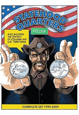 Folder (album) for Quarters (25 cents) American States and Territories 1999-2009