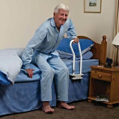 NRS Healthcare M48192 Support 2-in-1 Bed Rail, makes it easier to get out of bed