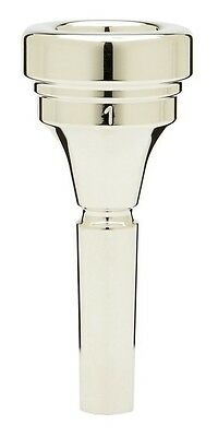Denis Wick Tenor Horn silver plated mouthpiece 1