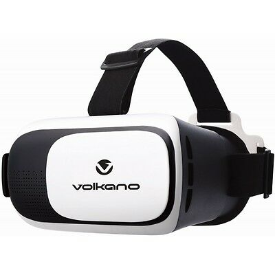 Volkano Virtual Reality VR Headset For 3.5-6 Inch Smartphones - VRHEADSET