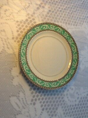 """Vintage Booths Queens Green Solian Side Plate 6.5"""""""