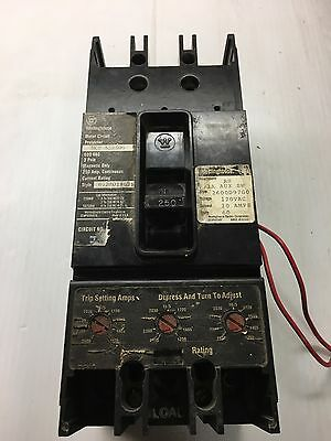 Westinghouse MCP 532500 Circuit Breaker 250 Amp 600 Volt With Trip