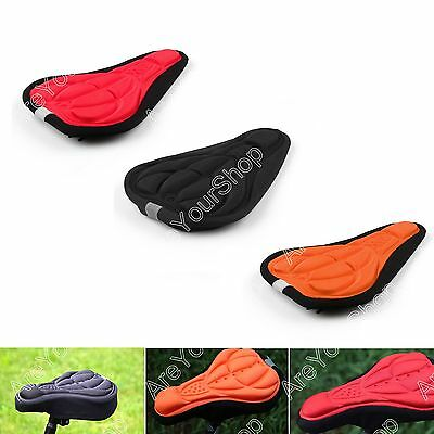 New Bike Cycling 3D Silicone Gel Pad Seat asiento cubierta Soft Cushion BS6.
