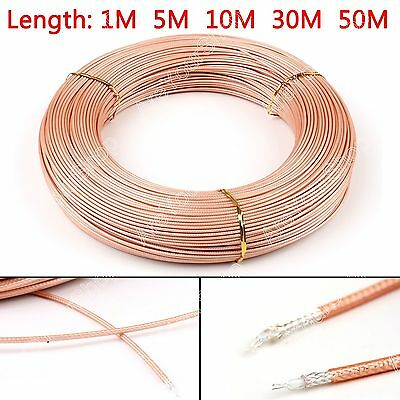 RG316 RF Coax Coaxial cable Conector 50ohm M17/113 Shielded Pigtail BS6.