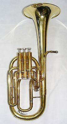 Sterling Virtuoso Tenor Horn - Raw Brass (Pre-owned)