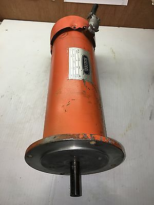 1 HP 90 Volt DC Motor Permanent Magnet 1725 RPM 10.9 Amp Great for Wind Turbine
