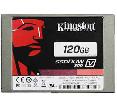 Kingston 120GB Solid State Drive 2.5inch SSD V300 SSDnow Solid-State SATA3