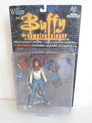 "Buffy The Vampire Slayer Action Figure ""willow"" In Blue Jeans - Mint On Card"