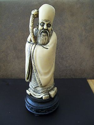 Chinese Resin Figure Of A Man