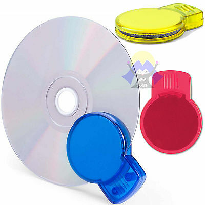 PULISCI Dico CD per BLU-RAY disc DVD Pulizia KIT Manuale FILM Musica CLEAN Movie