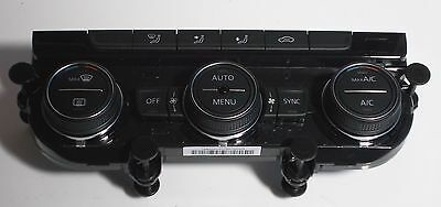 NEW GENUINE VW Golf Mk7 2013-on Air con heater dials control unit 5GE 907 044 AC