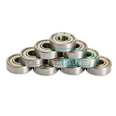 20PCS 608ZZ Deep Groove Ball Bearings 8*22*7mm for 3D Printer 8mm Bore