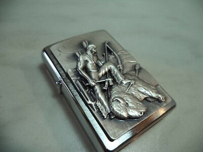Zippo Accendino Lighter Serie Indians  Modello 5 New