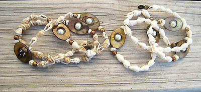 Shell MOP Beads Eyeglass Chain Holder Color Choice Beaded Lanyard Cord Necklace