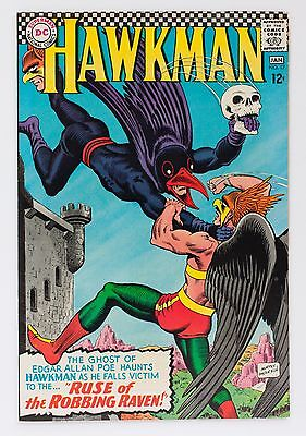 Hawkman No. 17 Ruse of the Robbing Raven VF- DC Comic Book 1966