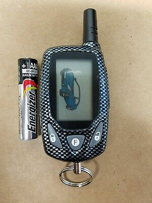 BRAND NEW Code Alarm 5BLCTX 2-Way LCD Keyless Remote with program instructions
