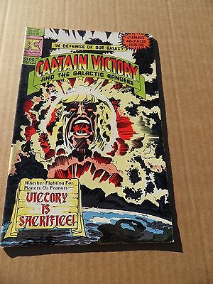 Captain Victory & The Galactic Rangers 6 . Pacific Comics 1982. Kirby - FN / VF