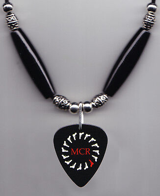 My Chemical Romance Round Logo Guitar Pick Necklace MCR