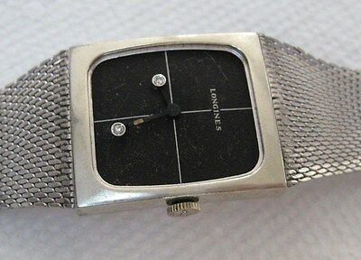 Longines Wrist Watch Diamond Hands for Parts or Repair