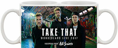 Take That Wonderland Tour 2017 Fans Mug *great Gift* Uk Seller