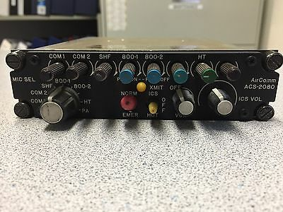 Air Comm Systems ACS 2080-300 Single Audio Panel