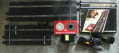 SCALEXTRIC- Power Base Track, Start track, 2 x Controllers,L/Counter + P/Pack
