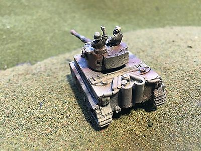 Painted WWII German Hetzer SP//AT w crew Wargaming Model 1//100th 15mm