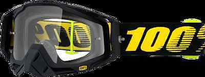 100% Racecraft Goggles Raceday Clear