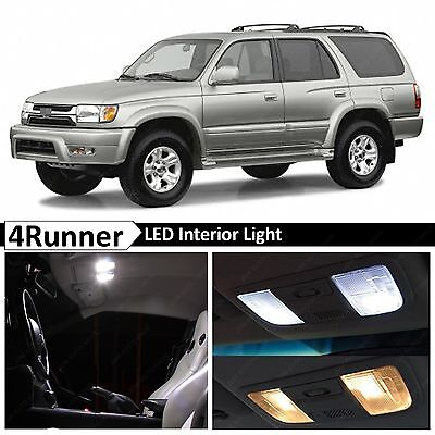 17x White Interior Map Dome LED Lights Package Kit Fits 1996-2002 Toyota 4Runner