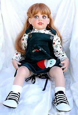 Fayzah Spanos Toddler Size Doll Precious Heirloom 1996 Signed #156/470 Red Hair