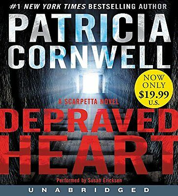 DEPRAVED HEART unabridged audio book on CD by PATRICIA CORNWELL