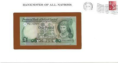 Banknotes of All Nations, Northern Ireland, 1 Pound,1979, P247b, Uncirculated