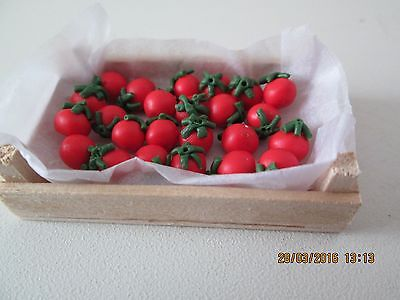 Dolls House Crate of Tomatoes.