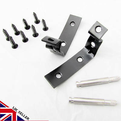 Glove Box Hinge Audi A3 S3 8P A4 S4 B6 B7  Lid Repair Kit 2001 - 2008 Seat Black
