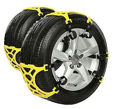 Anti Snow Chains of Car SUV Chain Tire Emergency Thickening Anti--Skid Ch... New
