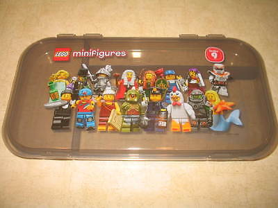 (1) Lego Minifigure Series 9 Storage Carry Case - No Figures - Used