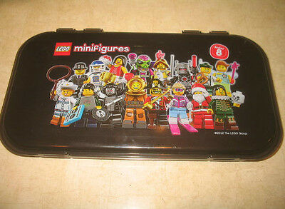 (1) Lego Minifigure Series 8 Storage Carry Case - No Figures - Used **READ**