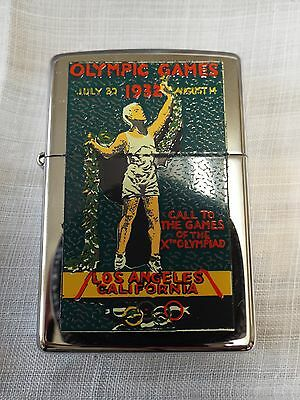 Vintage  Zippo Lighter Olympic Games Collection 1996  Los Angeles 1932 Unused