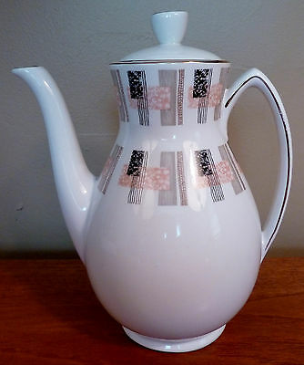 Scarce Grindley mid-century English abstract designs tea or coffee pot