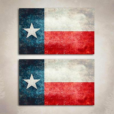 874a94c5475 Texas Flag Distressed Decal State Lone Star Sticker Cowboy Graphic 2 Decals